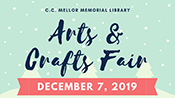 2019.12.07: First Saturday Arts & Crafts Fair (9 am to 7 pm)
